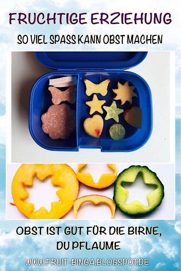 FRUCHTIGE ERZIEHUNG: So einfach macht man Kindern gesunde Ernährung schmackhaft.     Im Blog-Artikel findest Du auch einen Link zu einem Ananas-Minion Tutorial zum Nachmachen.     Fruchtige Grüße  Binga