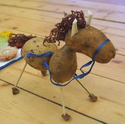Potato Posse - Something fun for kids to do with potatoes