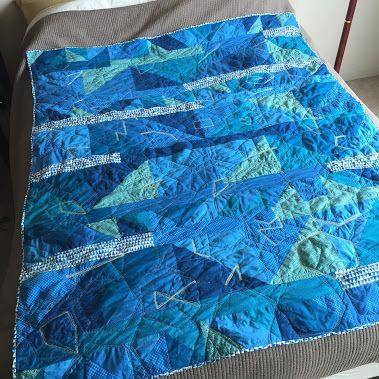 This is a glyph quilt I made for a friend. I'm proud of how it turned out and…