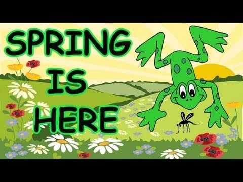"""""""Spring is Here"""" is a fun music video to incorporate into your seasonal theme on spring. It's an action song that children just love. The video includes the words making it ideal for early readers. This song is great for morning meeting, group activities and circle time."""