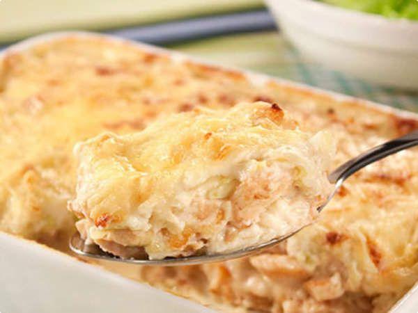 Mais uma maravilhosa receita usando frango, faça e nos conte o resultado! - Aprenda a preparar essa maravilhosa receita de Torta de Strogonoff de Frango