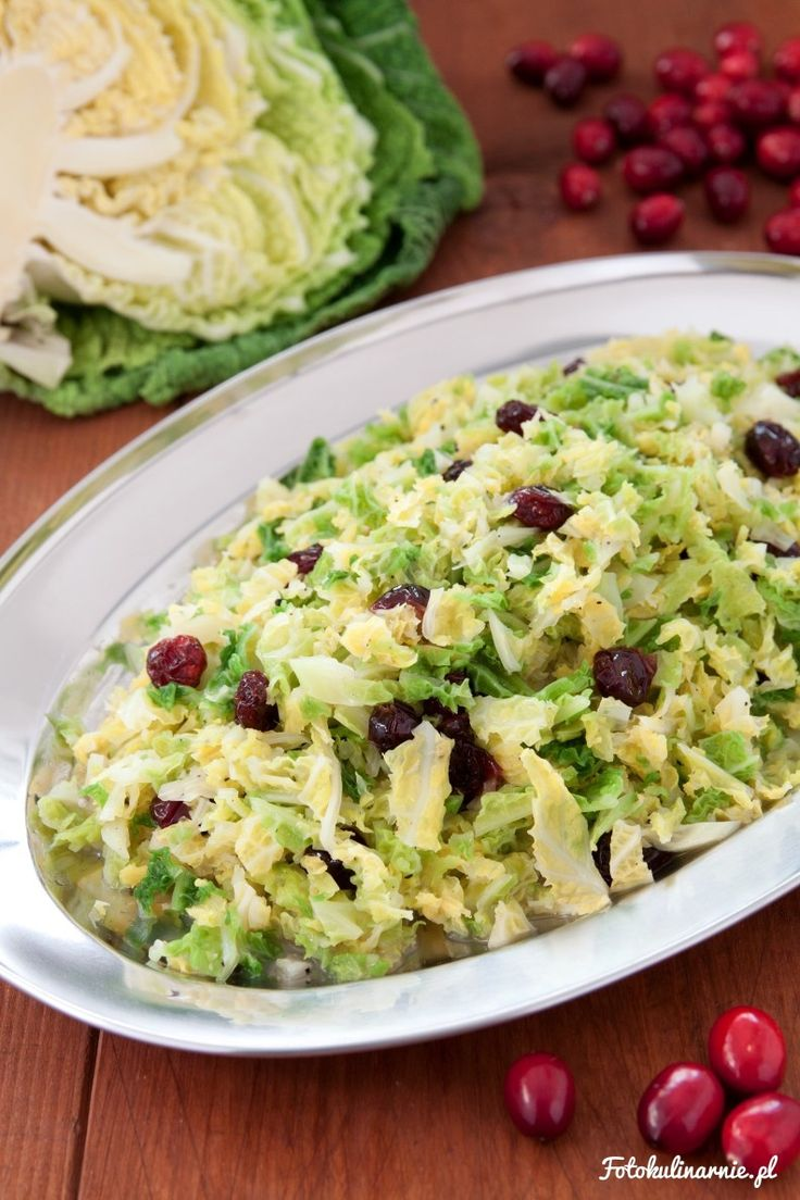 Savoy cabbage with cranberries - James Martin recipe.