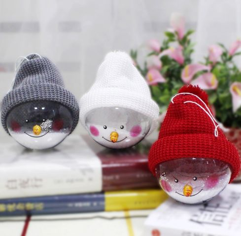Christmas Pendant Hanging Decorations Cute Snow Ball Drop 3 piece. ECA Listing By Magic Shop, Serbia