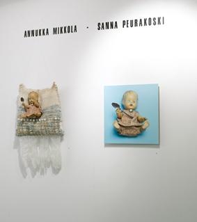 Kummalapsi - assemblage Annukka Mikkola, photos Sanna Peurakoski 2008