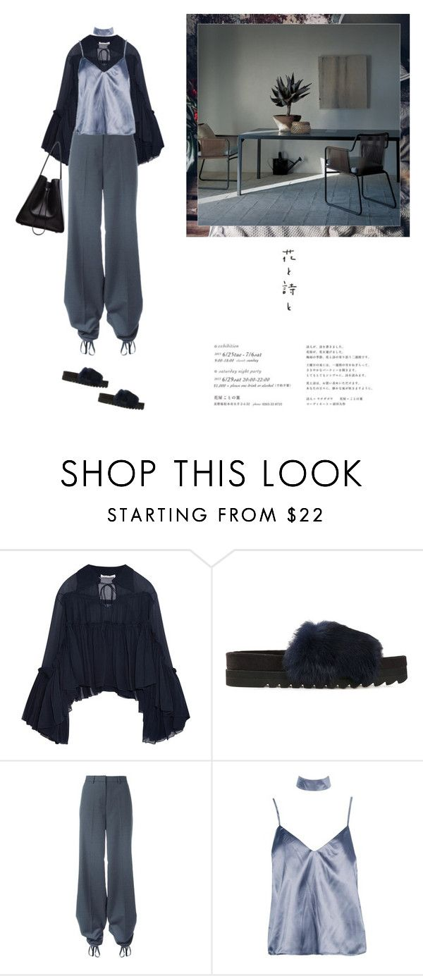 """""""Fallin in deep blue"""" by yenybarriot on Polyvore featuring Chloé, Undercover, Y/Project, Boohoo, Roda and 3.1 Phillip Lim"""