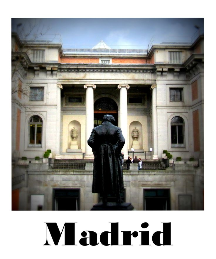 MADRID  [from the SPAIN/ROAD-TRIP polaroid shots series]