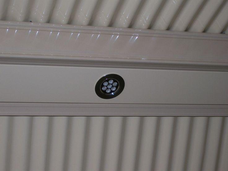 outdoor LED lights on verandahs, patios, pergolas and carports