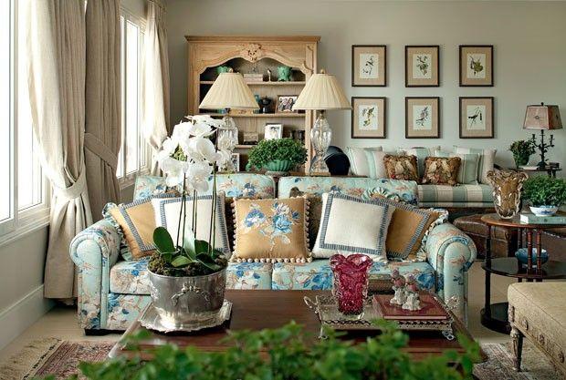 Décor do dia: o point da família Sala de estar clássica se beneficia da luz natural