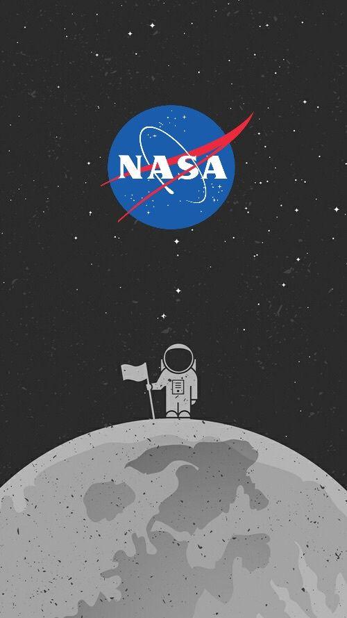 Nasa astronaut nasa papel de parede gal xia papel de for Foto minimaliste