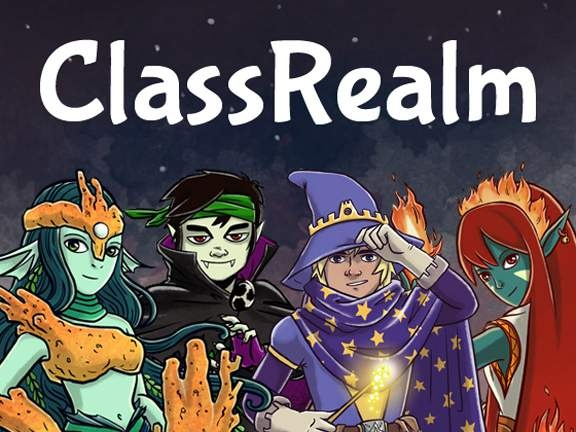 ClassRealm, a teaching tool embedded in a role-playing video game that teachers can customize to motivate students to turn in homework, be attentive in class and demonstrate good behavior. The teacher chooses rewards, such as points and levels.  (developed by a 1st year teacher)