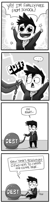Mondo Mango :: Done With School | Tapastic Comics - image 1