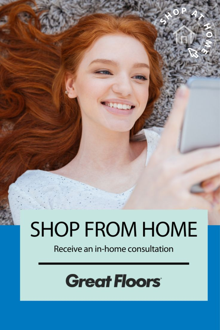 When you shop from home, you will receive an inhome