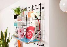 modular wall organizer DIY storage design idea
