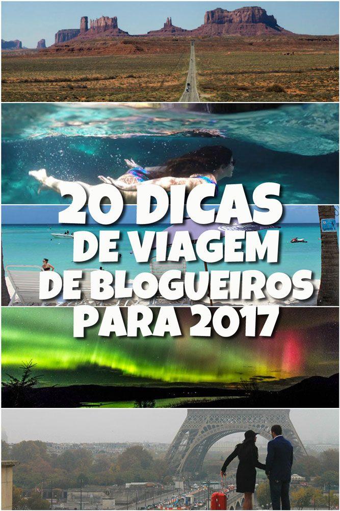 Confira as 20 melhores viagens de blogueiros de viagem em 2016 e aproveite essas dicas de viagem para se inspirar para 2017