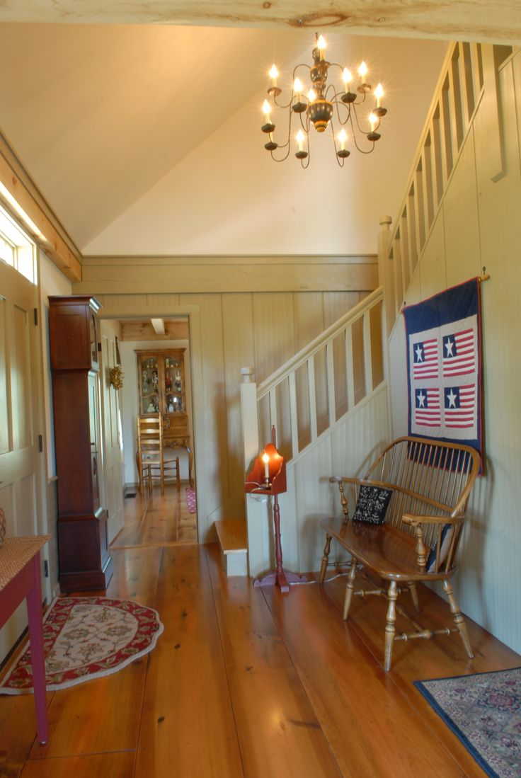 Entry Www Earlynewenglandhomes Com Interiors Pinterest