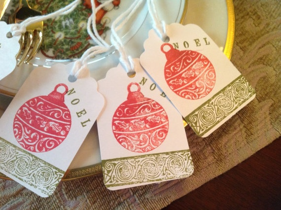 NOEL Christmas tags add that little extra to all those holiday ideas.: Holiday Ideas, Tags Add, Place Tags, Christmas Tags, Christmas Ideas