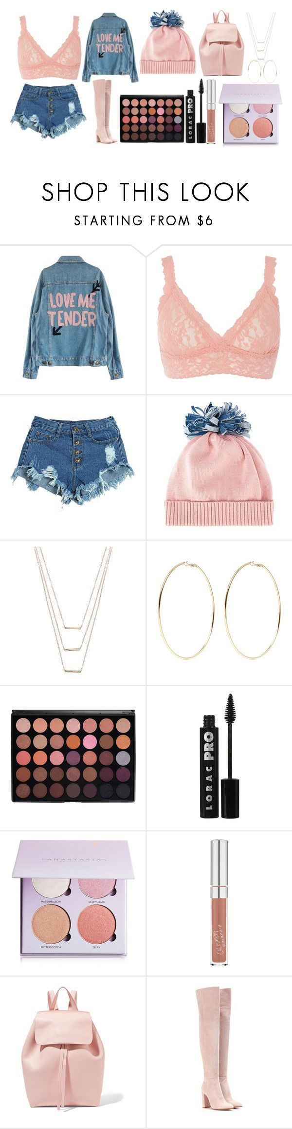 """""""Untitled #293"""" by alreemaljassim ❤ liked on Polyvore featuring Hanky Panky, WithChic, Federica Moretti, ERTH, Kenneth Jay Lane, LORAC, Anastasia Beverly Hills, Mansur Gavriel and Gianvito Rossi"""