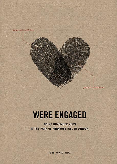 Après l'échange de vos voeux et des alliances, entrelacez vos empreintes de doigt pour ne former plus qu'un seul coeur