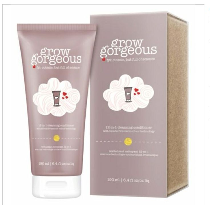 Amazing Grow a Gorgeous shampoo/conditioner BOUGHT
