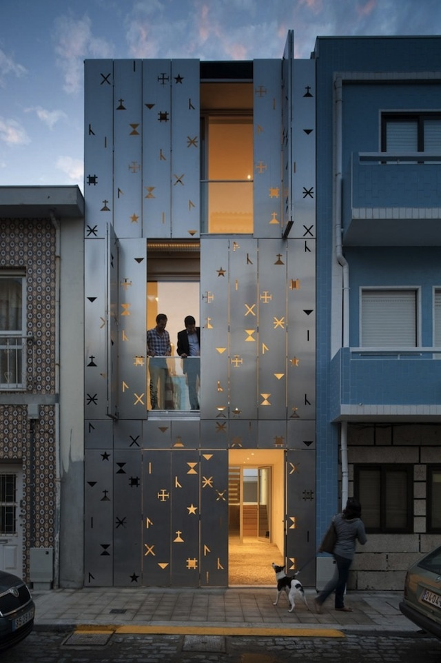 House 77 By DIONISO LAB. Shutters And Light Control Portuguese Studio  DIONISO LAB Have Completed A House In Póvoa De Varzim, Portugal, With A  Façade ...