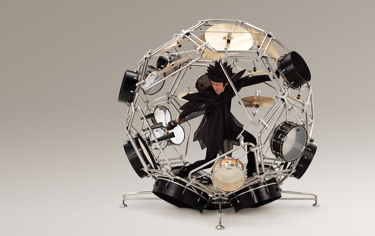 Yamaha: it allows performers to let their imaginations run wild on an assortment of different kinds of drums