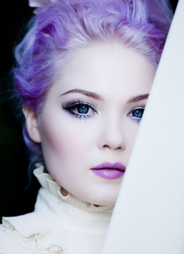 11 Best Images About Winter Wonderland Makeup On Pinterest | Ice Queen Eyes And White Mascara