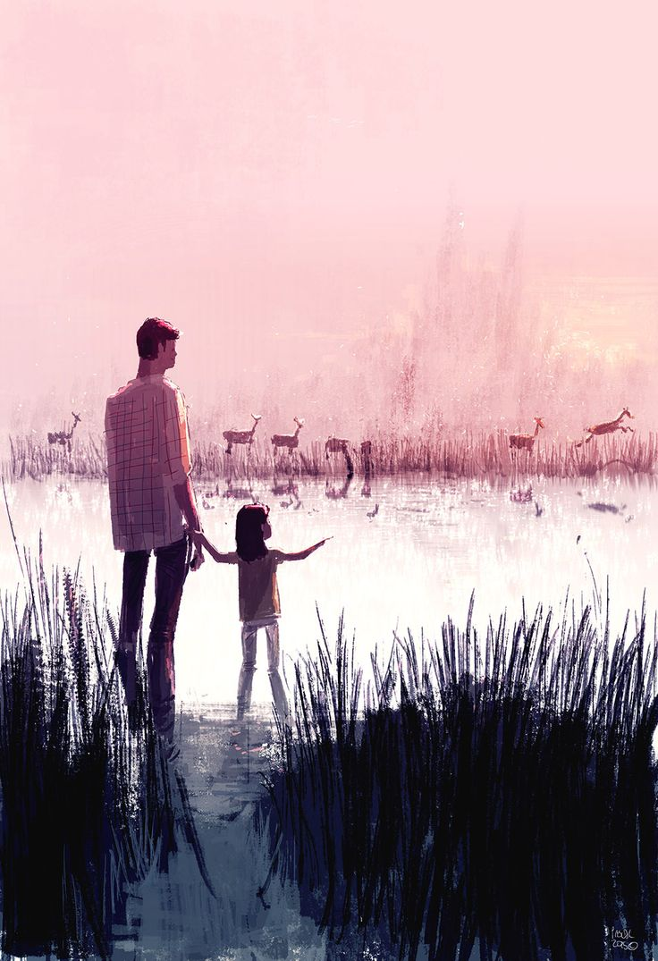 Deer Crossing by PascalCampion.deviantart.com on @DeviantArt