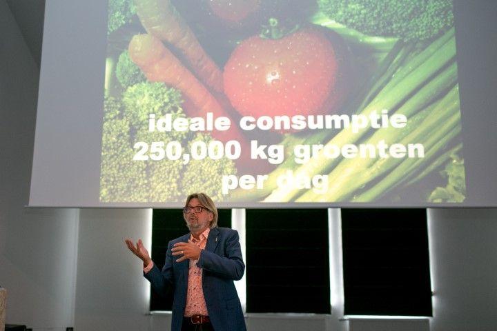 Rob Baan bij Dutch Cuisine-presentatie