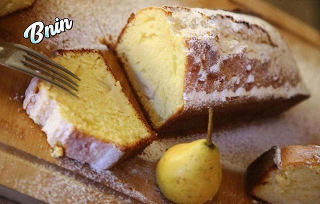Cake moelleux aux poires. Découvrez la recette sur notre chaîne YouTube: Bnin TV #cake #poire #dessert #frenchfood #cuisinetraditionnelle #cuisinefrançaise #bnin #bninTV #moroccanfood #instafood
