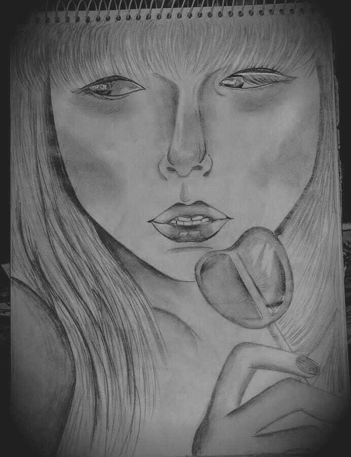 Grafite sobre papel.