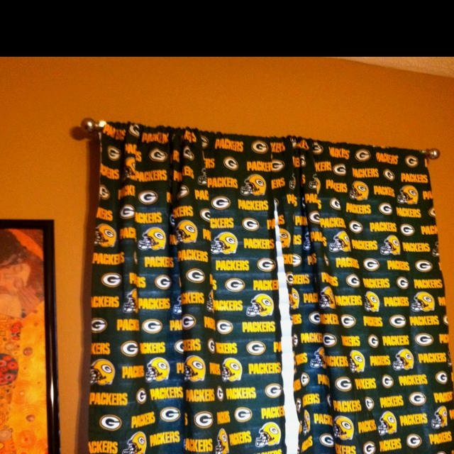 Lowes Bay Window Curtain Rod Green Bay Packers Appli