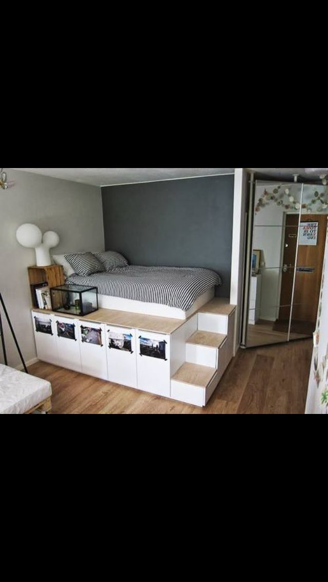 Not your mom 39 s underbed storage 10 creative ways to make for How to make more space in your bedroom