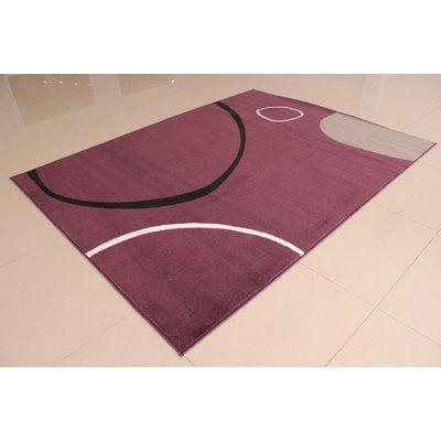 "Orren Ellis Gene Purple Area Rug Rug Size: Runner 2' x 7'2"""