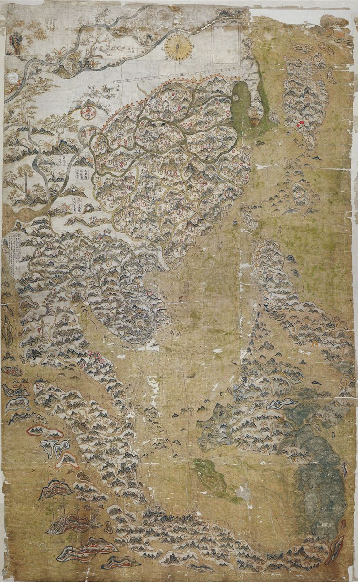 The Selden Map of China : an early 17th century map of East Asia formerly  owned