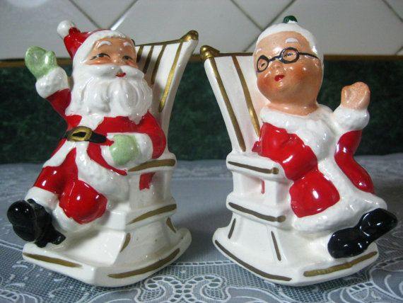 Lefton Santa & Mrs. Clause | #christmasgift http://www.sweitrade.net