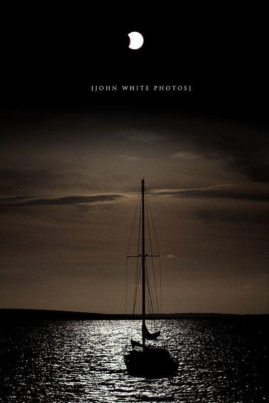 Partial Eclipse. 14 Nov 2012.,  South Australia., Port Lincoln, South Australia, Australia