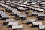 The Kakuma Refugee Camp in Kenya.
