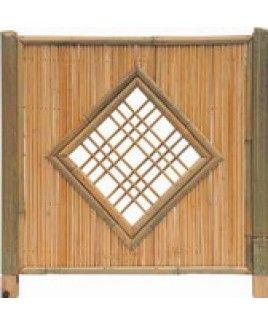 die besten 25 bambuszaun ideen auf pinterest bambus. Black Bedroom Furniture Sets. Home Design Ideas