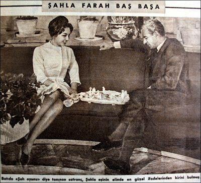 OĞUZ TOPOĞLU : şah muhammed rıza pehlevi farah'ı anlatıyor 1960 h...