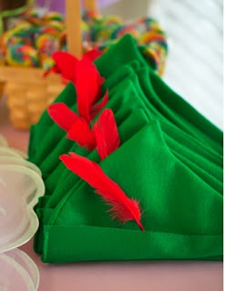 Peter Pan hats - need to figure out how to make these with felt!!