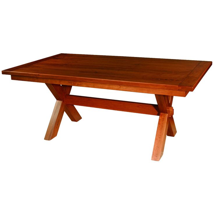 Frontier Trestle Extension Table – Amish Tables