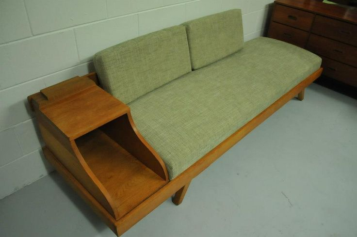 A versatile couch/daybed - with room for all your magazines too.