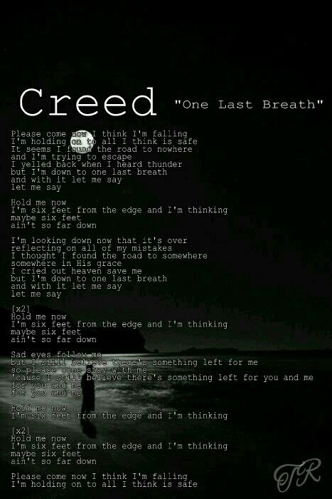 "Creed  ""One Last Breath""   #Creed"