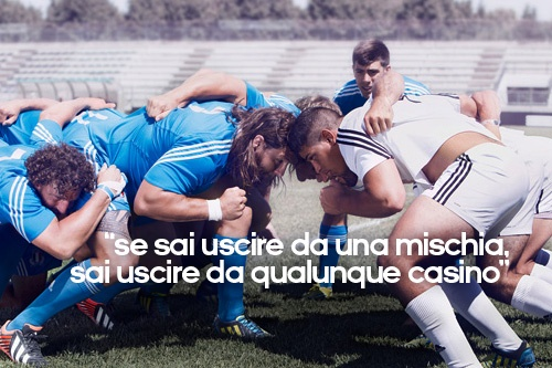 Italia Rugby Team by Adidas