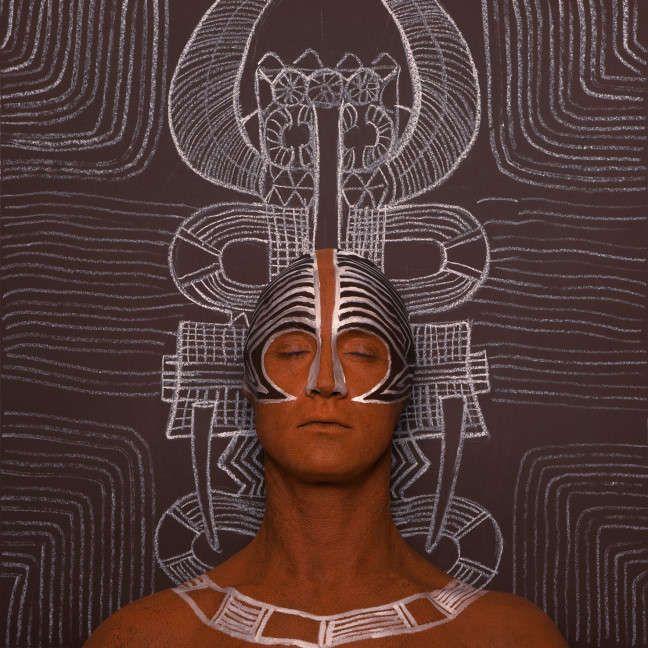 Spiritually Symbolic Body Paint : Tribal Body Paint Art