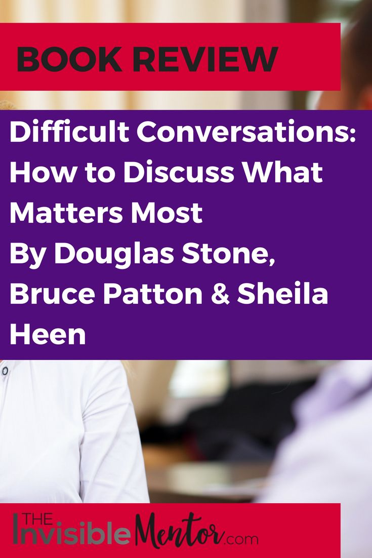 This is a brief review of the business classic, Difficult Conversations. We are living in an age where people from multiple generations and cultures are working together. This means that people will clash in the workplace every day. How do you have that tough conversation to create and maintain harmony in the workplace? Visit my website to read the article, Review of Difficult Conversations: How to Discuss What Matters Most. You will know if you want to read the book.