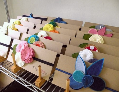 elastic headband packaging craft-market-display-ideas
