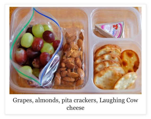 Healthy lunch ~ THAT combination looks tasty!