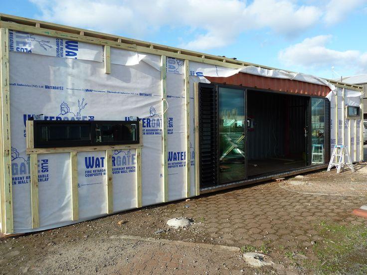 575 mejores im genes de casas prefabricadas en pinterest - Casas prefabricadas contenedores ...
