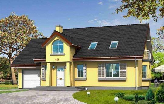 Projekt Zgrabny 2 powstał jako wariantowa wersja domu Zgrabny. Jest to dom jednorodzinny dla rodziny cztero-pięcioosobowej. Projekt domu Zgrabny 2 charakteryzuje się bardzo funkcjonalnym wnętrzem. W projekcie, na parterze oprócz salonu został zaprojektowany dodatkowy pokój i łazienka. Na poddaszu umieszczono trzy sypialnie, garderobę, dużą łazienkę oraz dodatkowy pokój nad garażem.